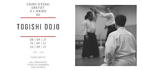 Essai gratuit d'Aïkido à Soignies billets