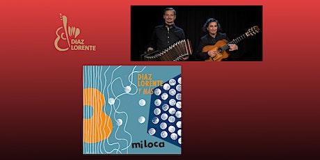 """Diaz Lorente y mas - Presentation Concert of the Album """"miLoca"""" tickets"""