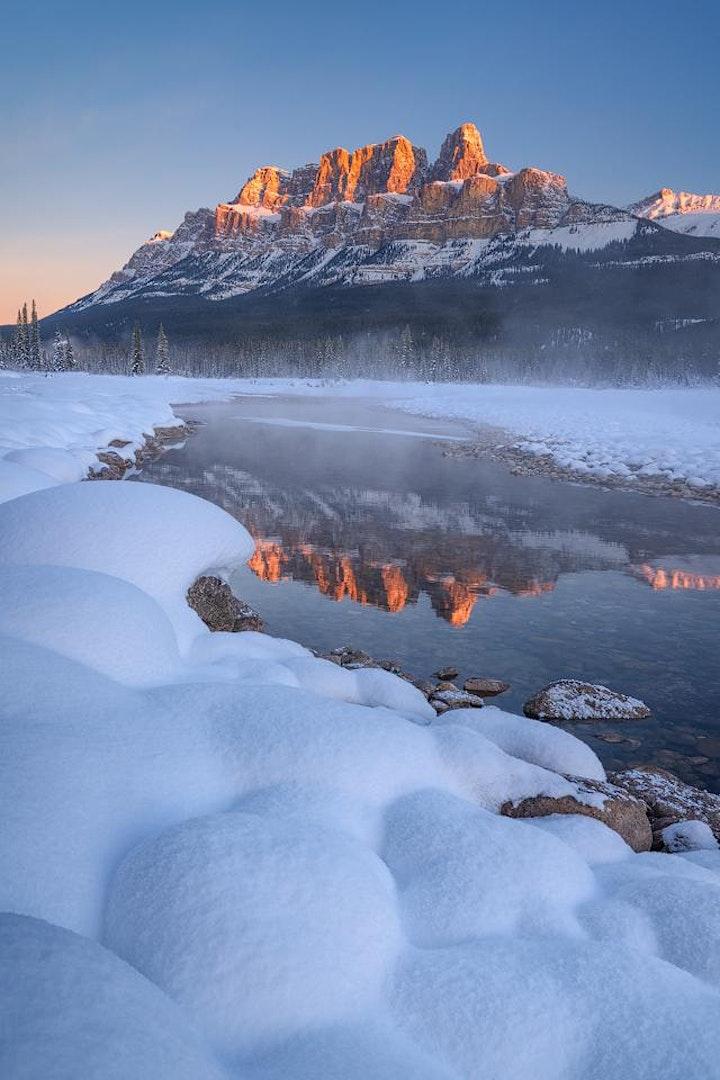 Chasing Light: 'Banff & Lake Louise at Winter's Edge' image