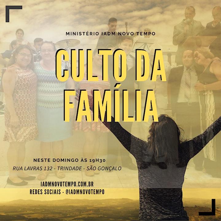 Imagem do evento Culto para a Família