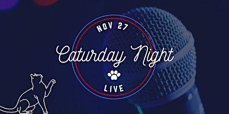 Caturday Night Live tickets