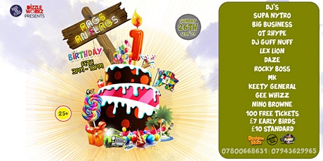 RAGS AN FLAGS BIRTHDAY PARTY tickets