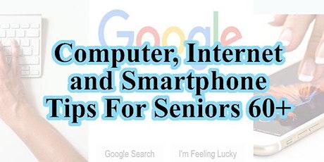 Computer, Internet & Technology Tips & Q&A - Seniors 60+ tickets