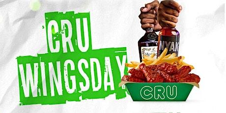 Cru Love Wednesday's tickets