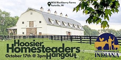 Hoosier Homesteaders Hangouts tickets