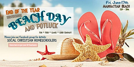 End of the Year HOMESCHOOL BEACH DAY!!! tickets