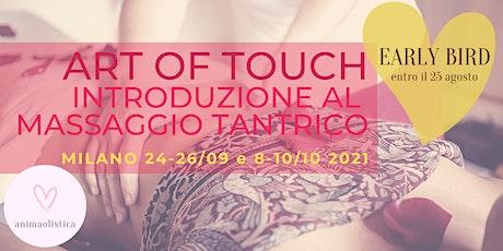 Introduzione al Massaggio Tantrico - Corso Base a Milano - Sett/Ott 2021 biglietti
