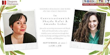 In Conversation with Shayda Kafai and Amanda Leduc tickets