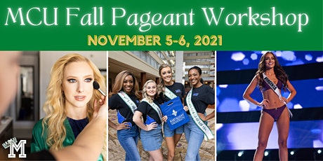 MCU Fall Pageant Workshop tickets