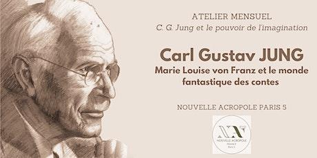 Carl Gustav Jung et le pouvoir de l'imagination - ATELIER 2 billets