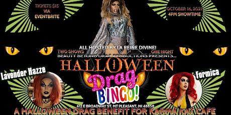 4PM - Halloween Drag Bingo: A Benefit for Karma Kat Cafe! tickets