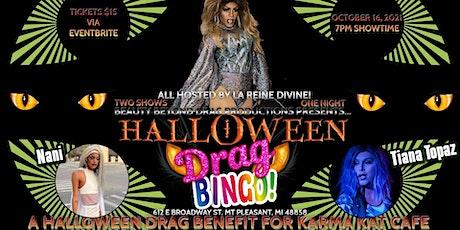 7PM - Halloween Drag Bingo: A Benefit for Karma Kat Cafe! tickets