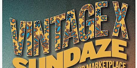 Vintage X meets Sundaze tickets