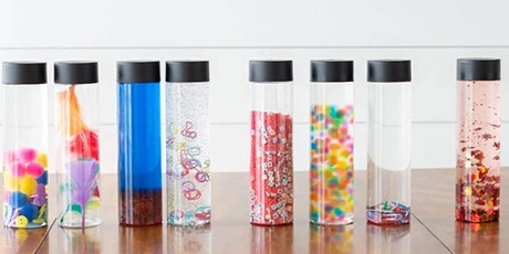 Sensory Bottles with Mercycare tickets
