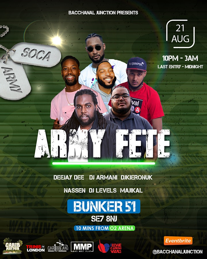 Bacchanal Junction - ARMY FETE image