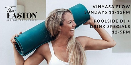 Rooftop Yoga + DJ Pool Party EVERY Sunday tickets