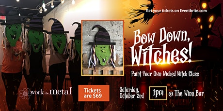 Bow Down, Witches! Halloween Paint Event tickets