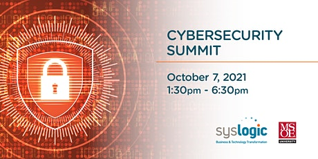 Cybersecurity Summit 2021 tickets
