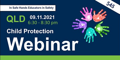 """Child Protection """"Legal & Practical Response to Child Abuse"""" Webinar  QLD tickets"""