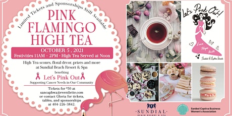 Pink Flamingo High Tea Honoring Breast Cancer Awareness Month tickets