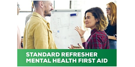 Online MHFA Refresher course tickets