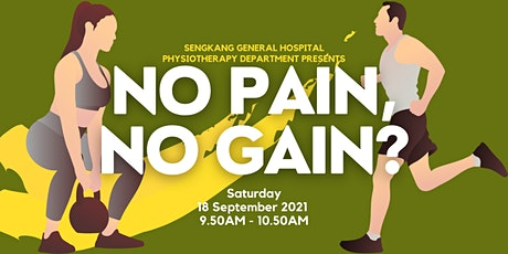 No Pain, No Gain? tickets