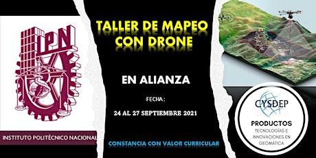 TALLER DE MAPEO CON DRONE boletos