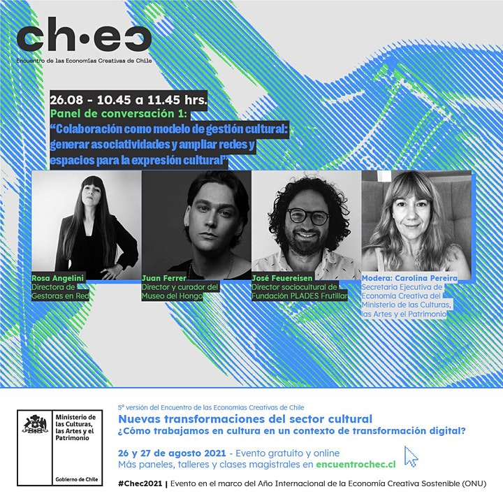 Imagen de CHEC 2021: Colaboración como modelo de gestión cultural