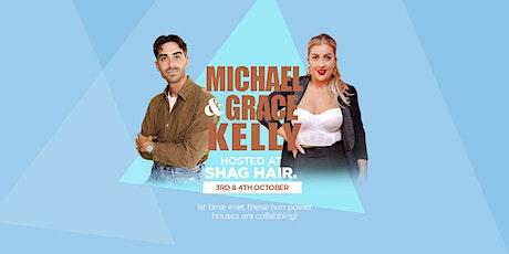 Michael Kelly Colourist & Grace Kelly Shag Hair || Collab Class tickets