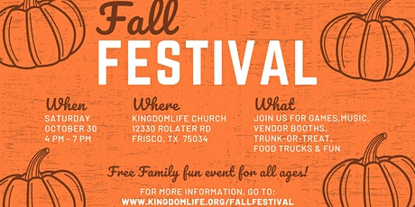Second Annual Fall Festival tickets