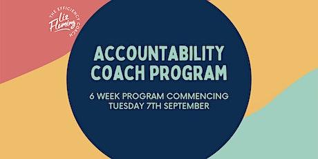 Accountability Coach Program tickets