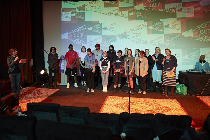 Register interest for 2022 Poets Out Loud Youth Slam image