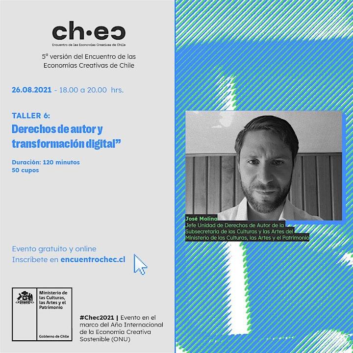Imagen de CHEC 2021: Derechos de autor y transformación digital