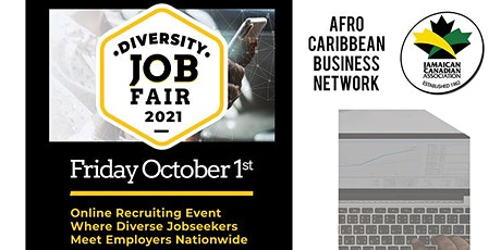 ACBN Diversity Job Fair -  Presented by Jamaican Canadian Association tickets
