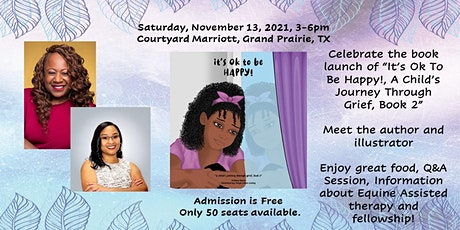 """Book Launch Celebration of """"It's Ok To Be Happy"""" tickets"""
