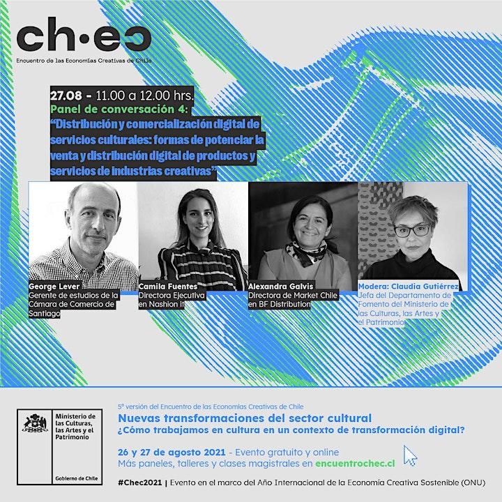Imagen de CHEC 2021: Distribución y comercialización digital de servicios culturales