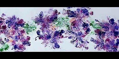 Paper Towel Smudge - Acrylic Pour Painting Class tickets