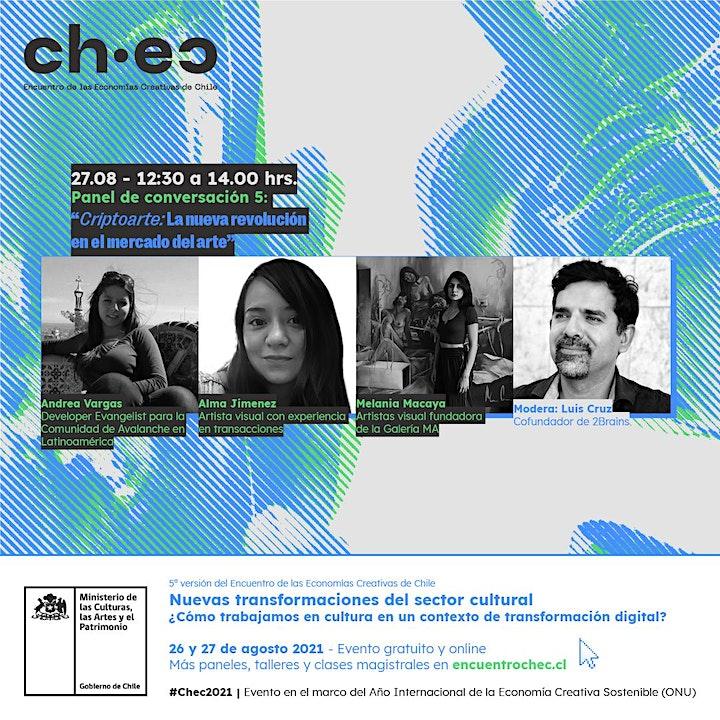 Imagen de CHEC 2021: Criptoarte: La nueva revolución en el mercado del arte