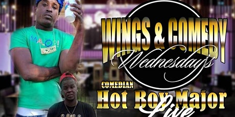 Wings & Comedy  Wednesday tickets
