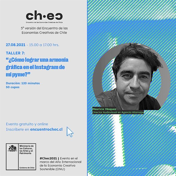 Imagen de CHEC 2021:¿Cómo lograr una armonía gráfica en el Instagram de mi pyme?