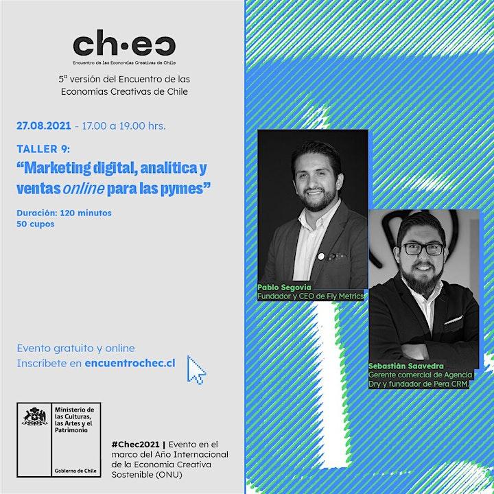 Imagen de CHEC 2021:Marketing digital, analítica y ventas online para las pymes