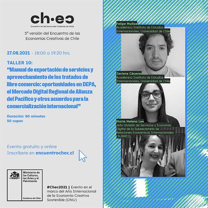 Imagen de CHEC 2021:Manual de exportación de servicios