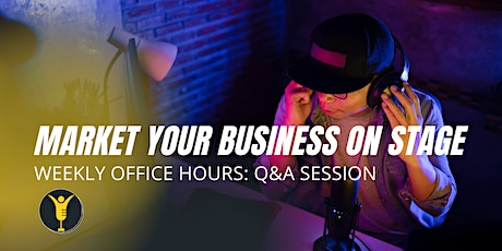 Setting Goals for Your Speaking Career: Weekly Office Hours with iFYC tickets