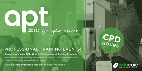 Aidacare Albury- Clinical Applications of Assistive Technology tickets