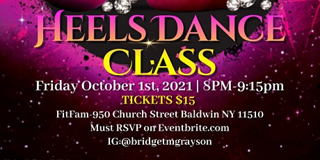Just Vibe Beginner Heels Dance Class tickets
