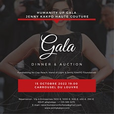 Reseveration Humanity up Gala Jenny KAKPO HAUTE COUTURE Carrousel du Louvre billets