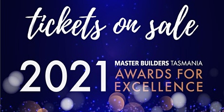 Master Builders Tasmania 2021 Awards for Excellence tickets
