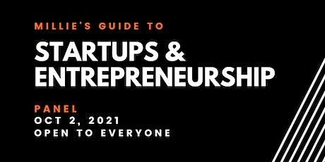 PANEL | Millie's Guide to Startups & Entrepreneurship tickets