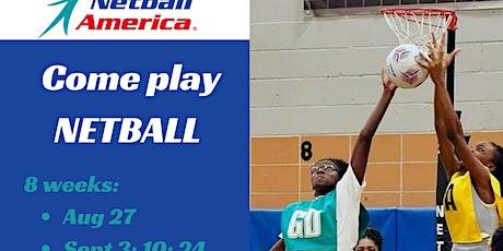 Free Skills/Drills/Leadership/Netball Program for Girls in East Atlanta tickets