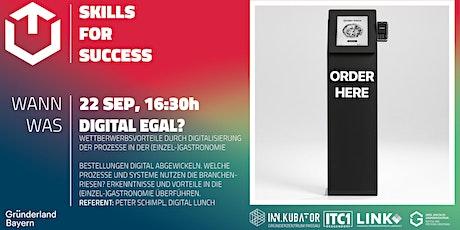 GZDN Skills for Success   Digital egal? Tickets